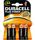 Duracell Plus AA 4×1.5V LR6 Alkaline Batteries 81417775