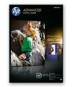 HP ADVANCED GLOSSY PH.PAPER 10X15 (Q8692A)