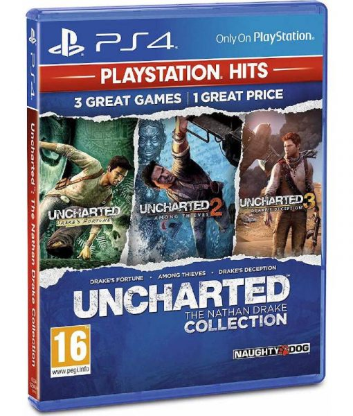 Naughty Dog Uncharted The Nathan Drake Collection – PS4 Hits