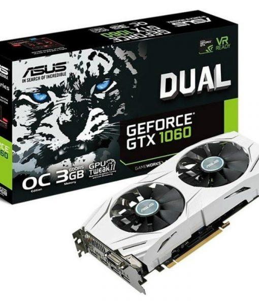 Asus GeForce GTX 1060 Dual OC 3GB GDDR5 DUAL-GTX1060-O3G