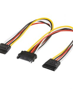 Goobay Adapter Sata Male – 2x Sata Female Power Supply 95114
