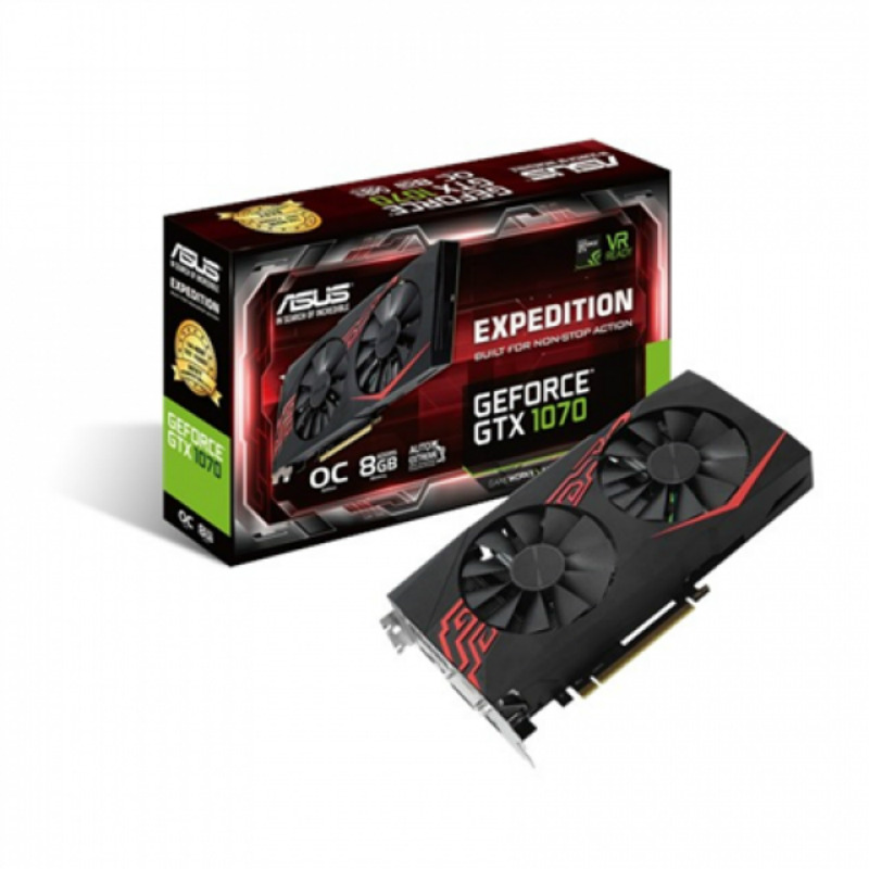Asus GeForce GTX 1070 Expedition OC 8GB GDDR5 EX-GTX1070-O8G