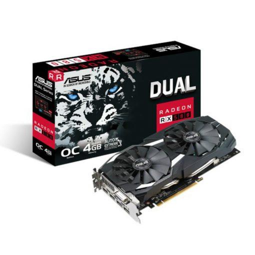 Asus Radeon RX 580 Dual OC Edition 4GB