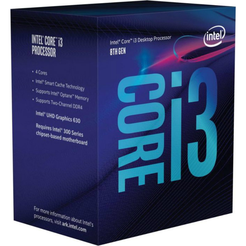 Intel Core i3-8100 3.60GHz 6MB BX80684I38100