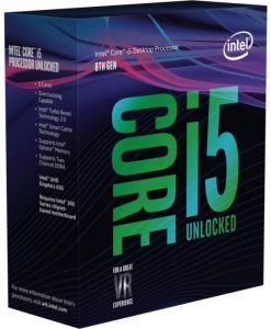 Intel Core i5-8600K 3.60GHz 9MB