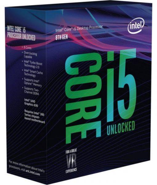 Intel Core i5-8600K 3.60GHz 9MB