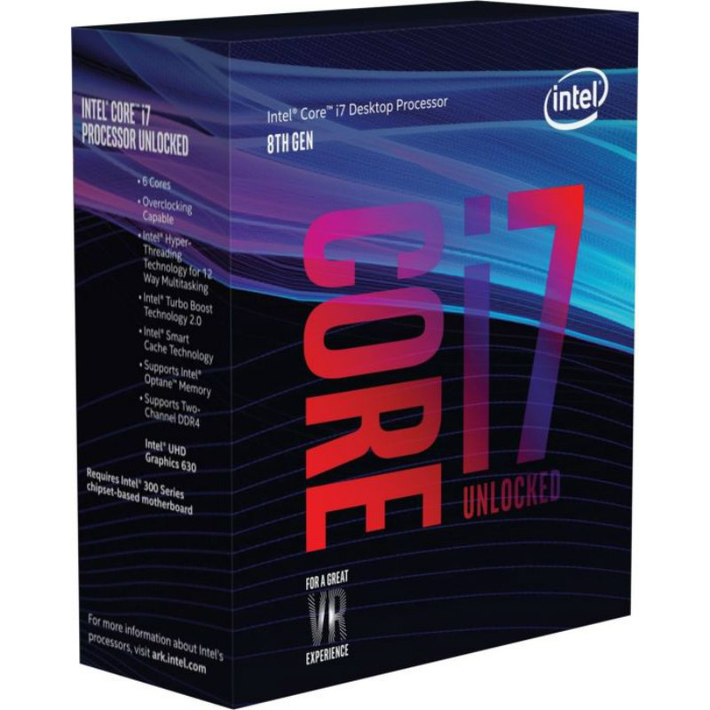 Intel Core i7-8700K 3.70GHz 12MB
