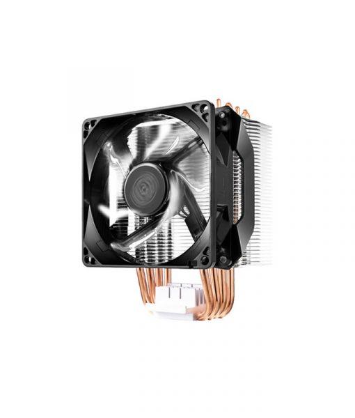CoolerMaster Hyper H411R White LED PWM Fan RR-H411-20PW-R1