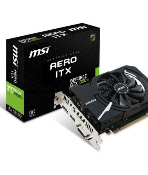 MSI GeForce GTX 1050 Ti Aero ITX 4G OCV1 4GB GDDR5 V809-2606R