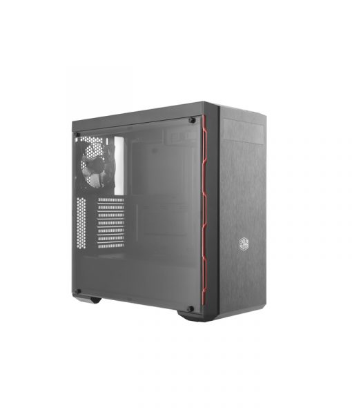CoolerMaster MasterBox MB600L Red Trim with ODD Support