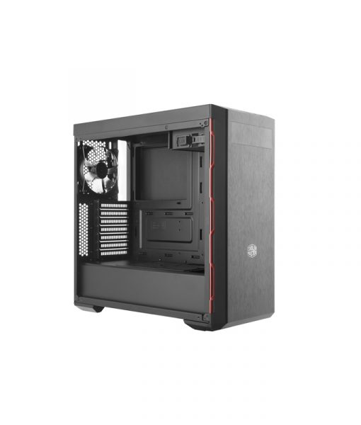 CoolerMaster MasterBox MB600L Red Trim with ODD Support MCB-B600L-KA5N-S00_1