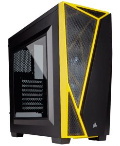Corsair Carbide Spec-04 Mid-Tower Gaming Case BlackYellow CC-9011108-WW