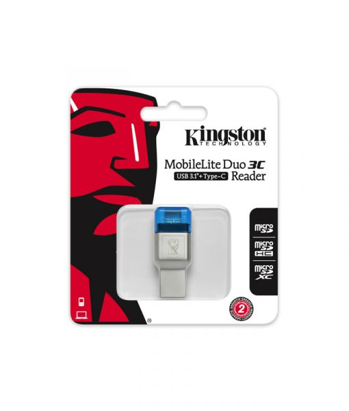 Kingston MobileLite Duo 3C Dual microSD Reader FCR-ML3C_3