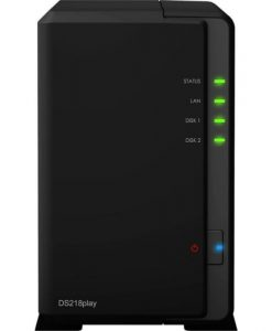 Synology DiskStation DS218play 2-Bay NAS