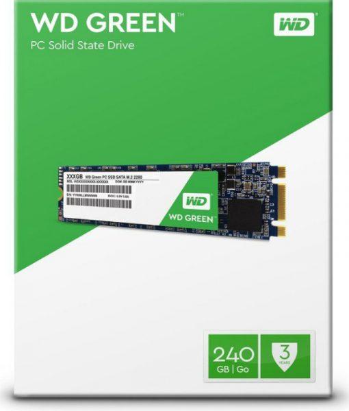 Western Digital Green SSD 240GB M.2 2280 Sata III WDS240G2G0B_1