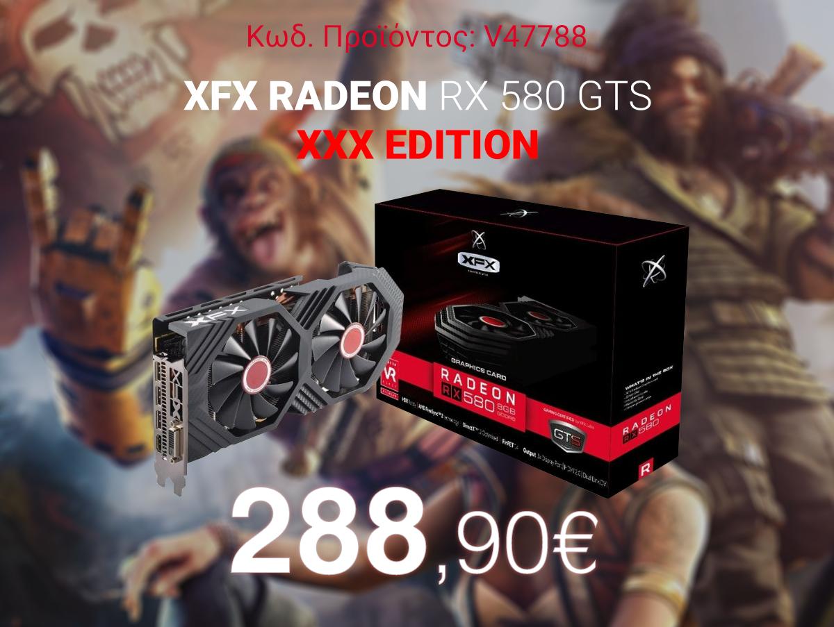 V47788 XFX Radeon RX 580 GTS XXX Edition 8GB GDDR5 RX-580P8DFD6