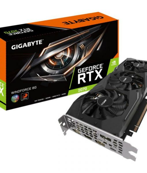 Gigabyte GeForce RTX 2070 Windforce 8G 8GB GDDR6 GV-N2070WF3-8GC