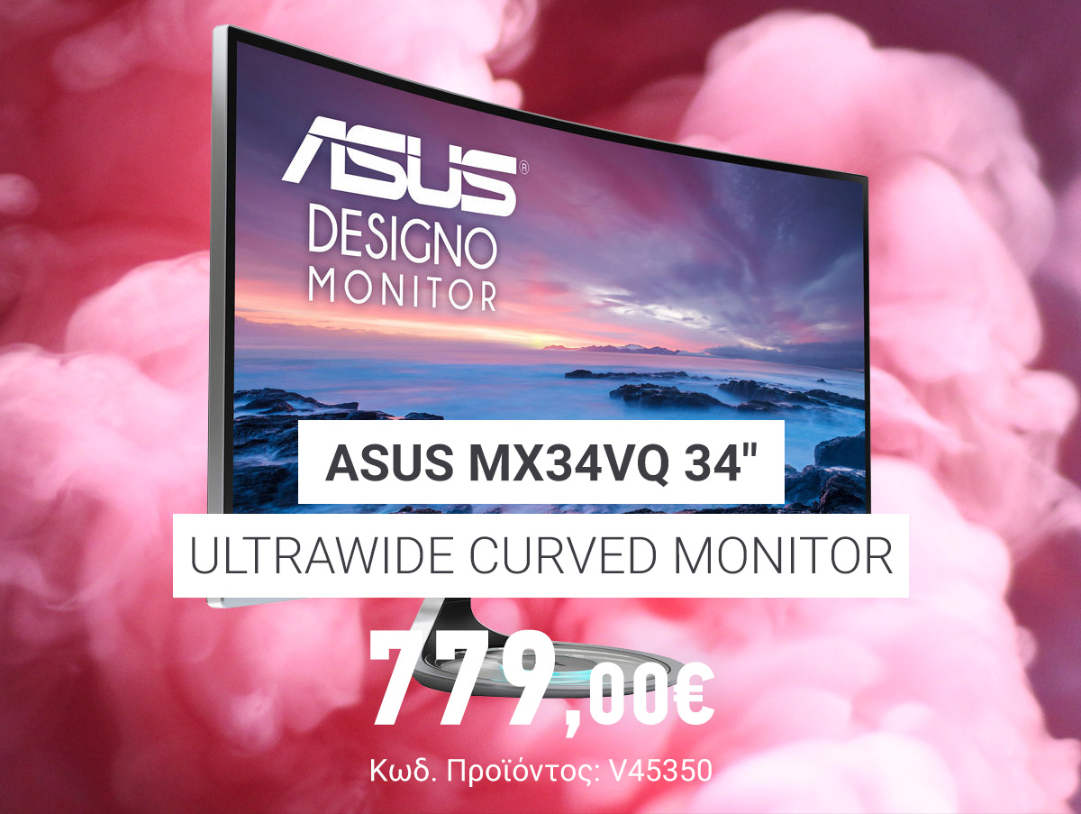 V45350 Asus MX34VQ 34» Ultrawide Curved_Monitor