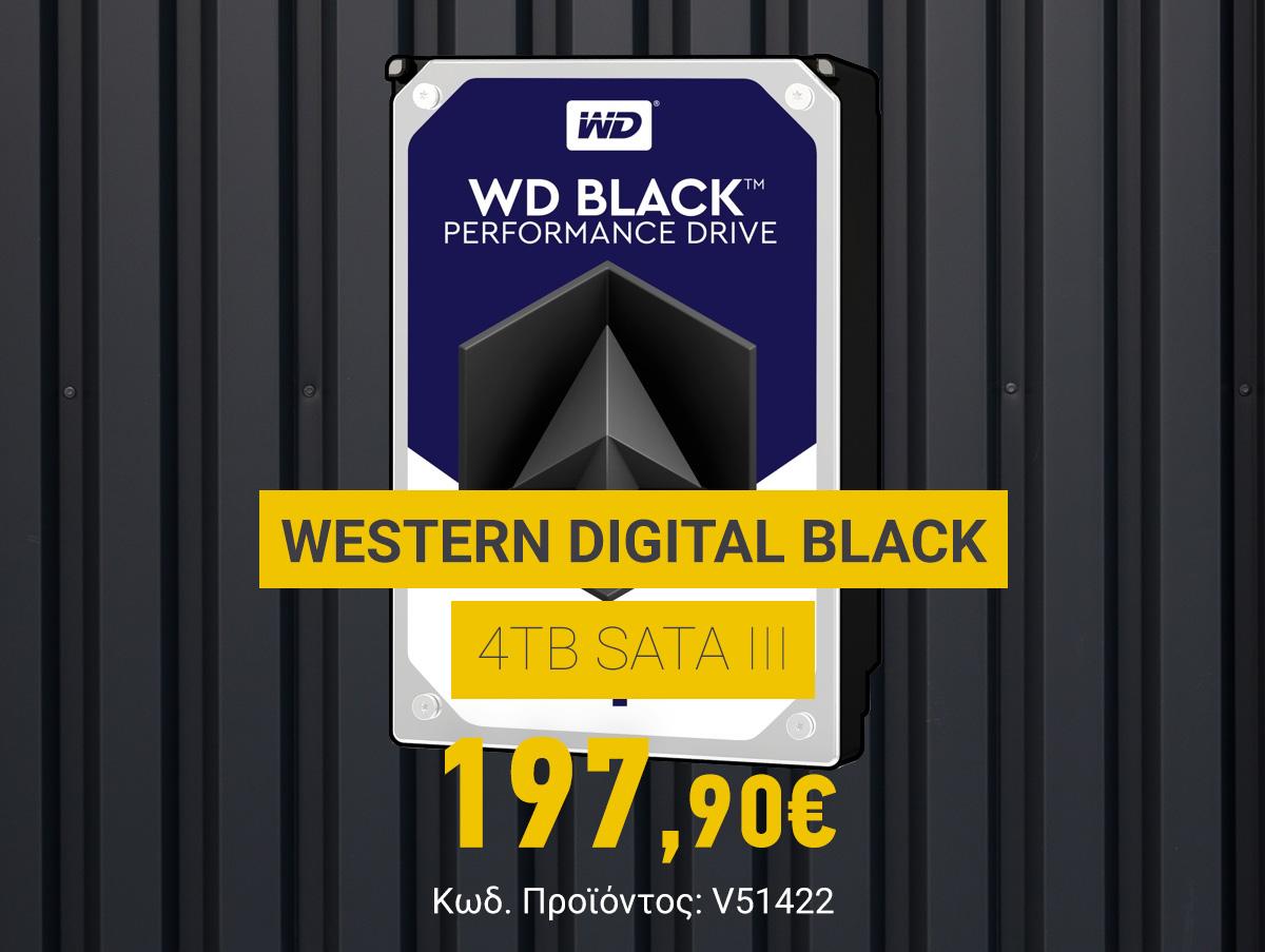 V51422 Western Digital Black 4TB Sata III WD4005FZBX