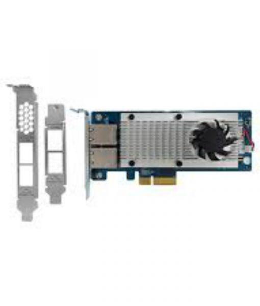QNAP Dual Port 10Gbe Network Expansion Card LAN-10G2T-X550