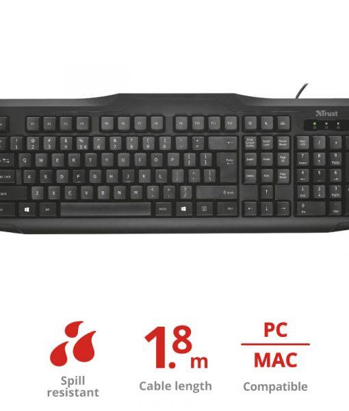 Trust ClassicLine Keyboard GR 20630_4