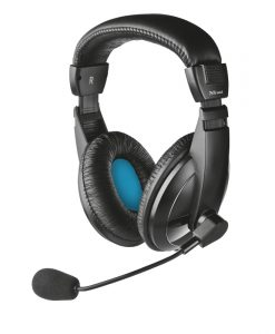 Trust Quasar Headset Black 21661