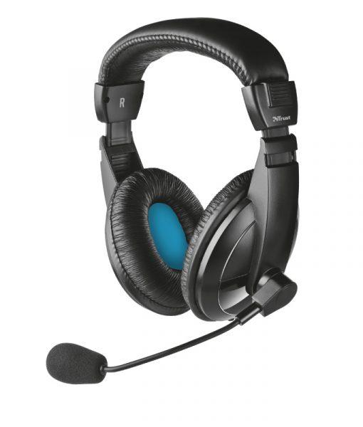 Trust Quasar Headset Black 21661