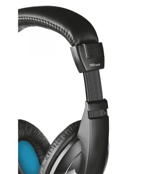 Trust Quasar Headset Black 21661_2