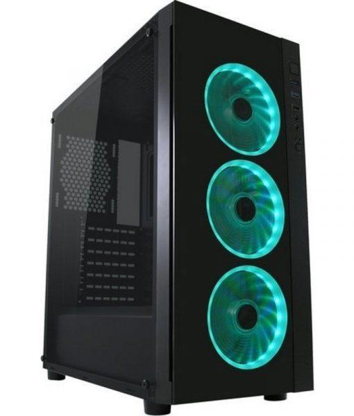 LC-Power Gaming 995B Light Box Midi Gaming Case LC-995B-ON