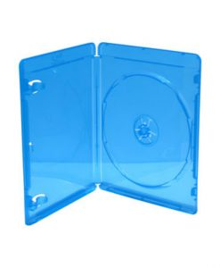 MediaRange BD Case for 1 Disc 1mm Blue 5 Pack BOX38