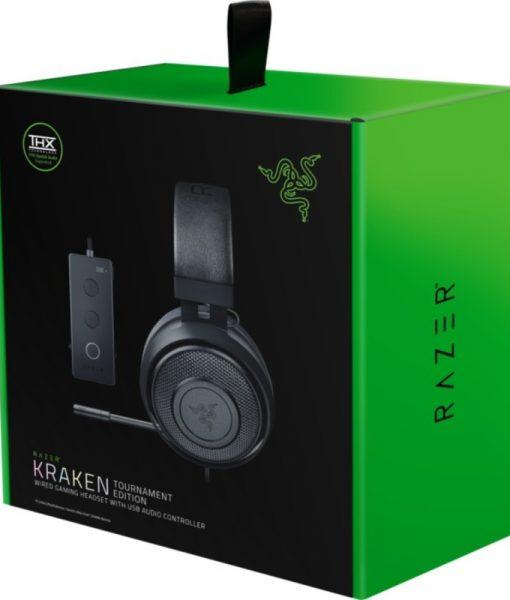 Razer Kraken Tournament Edition Wired Gaming THX Headset Black RZ04-02051000-R3M1_6