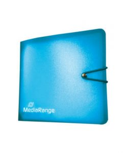 MediaRange Media Storage Wallet for 12 Discs Blue BOX58