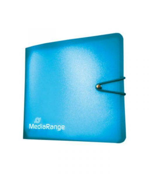 MediaRange Media Storage Wallet for 12 Discs Blue BOX58