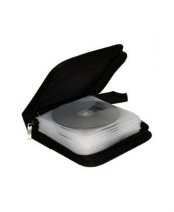 MediaRange Media Storage Wallet for 24 Discs Nylon Black BOX50_1