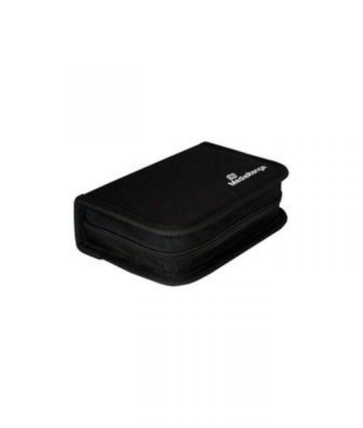 MediaRange Media Storage Wallet for 6 USB Flash Drives & 3 SD Memory Cards Nylon Black BOX98