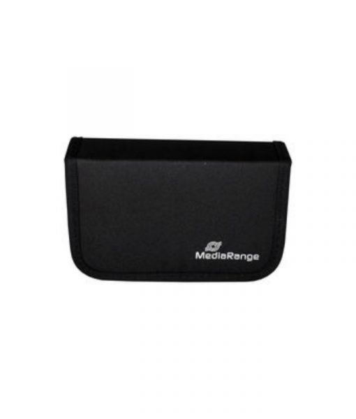 MediaRange Media Storage Wallet for 6 USB Flash Drives & 3 SD Memory Cards Nylon Black BOX98_1