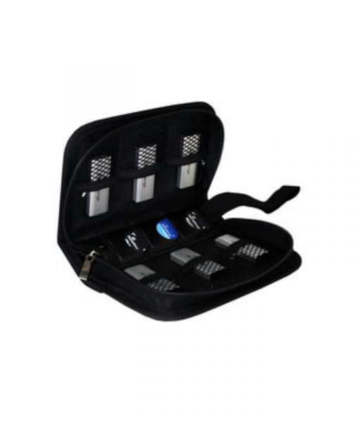 MediaRange Media Storage Wallet for 6 USB Flash Drives & 3 SD Memory Cards Nylon Black BOX98_3