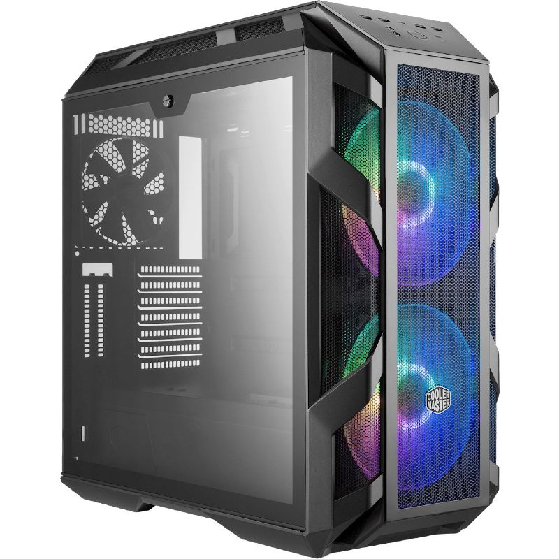 CoolerMaster MasterCase H500 ARGB Midi Tower Tempered Glass Black MCM-H500-IGNN-S01