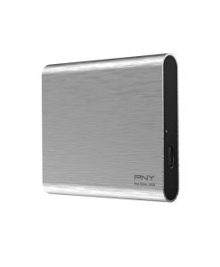 PNY Pro Elite Portable SSD 500GB 2.5 USB 3.1 Type-C Brushed Silver PSD0CS2060S-500-RB
