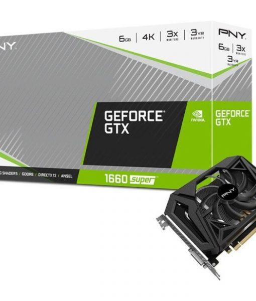 PNY GeForce GTX 1660 Super Single Fan 6GB GDDR6 VCG16606SSFPPB