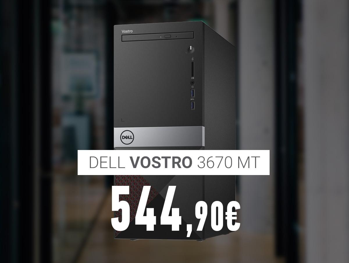 V58391 Dell Vostro 3670 MT i3-8100_8GB_1TB+128GB_Win10Pro RV82M