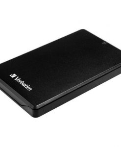 Verbatim Store & Save 2.5 USB 3.0 HDDSSD External Enclosure Metal 53100
