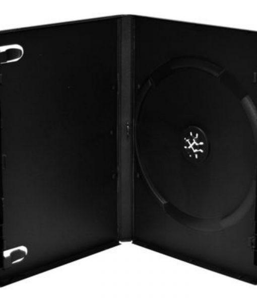 MediaRange DVD Case 14mm Machine Packing Grade Black BOX11-M
