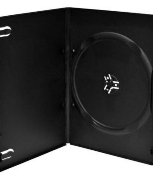 MediaRange DVD Slimcase 7mm Machine Packing Grade Black BOX13-M