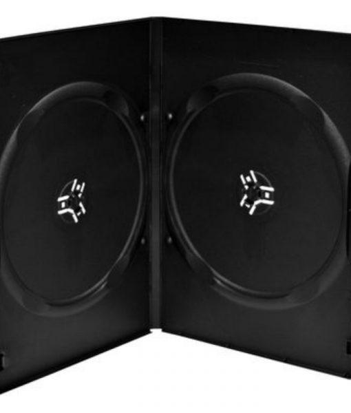 MediaRange DVD Slimcase for 2 Discs 9mm Black BOX14