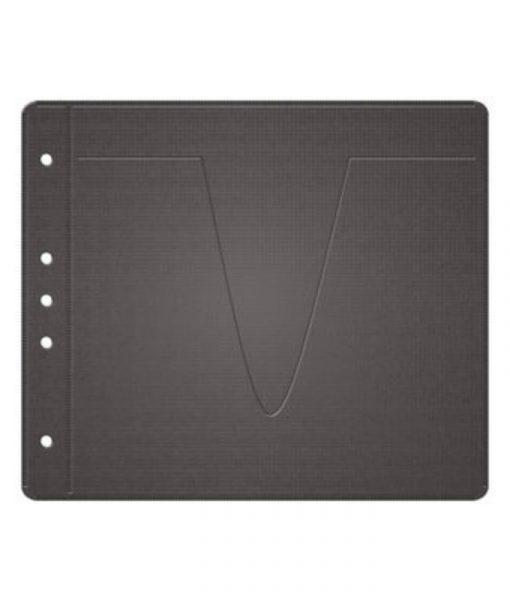MediaRange Fleece Sleeves for 2 Discs 50-Pack Black BOX61_1