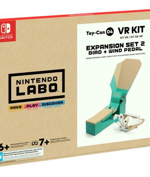 Nintendo Labo VR Kit Expansion Set 2 (Bird + Wind Petal) – Nintendo Switch