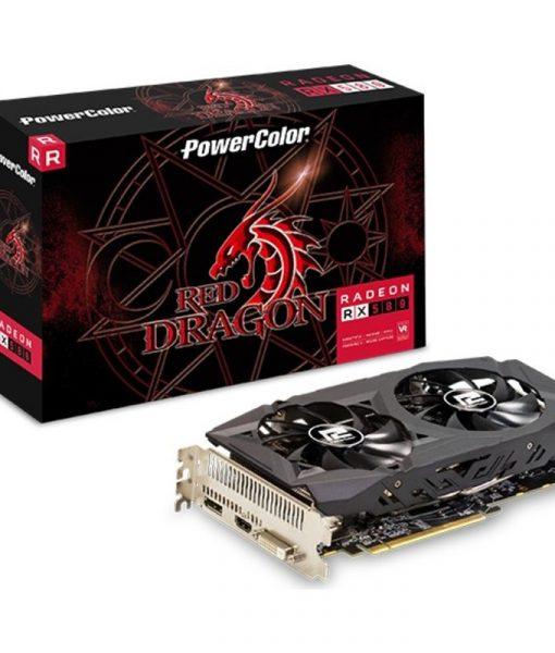 Powercolor Radeon RX 580 Red Dragon 8GB GDDR5 AXRX 580 8GBD5-DHDV2OC