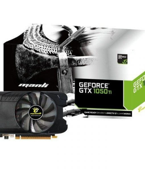 Manli GeForce GTX 1050 Ti 4GB GDDR5 N580105TIM14341