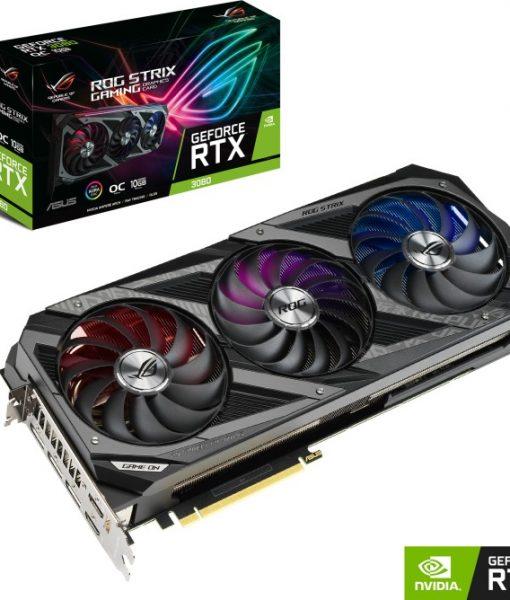 Asus GeForce RTX 3080 ROG Strix OC 10GB GDDR6X ROG-STRIX-RTX3080-O10G-GAMING